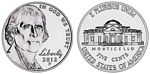 U.S. Nickel 2012 Cent Coin