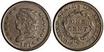 U.S. Penny 1814 Cent