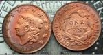 U.S. Penny 1821 Cent