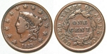 U.S. Penny 1833 Cent