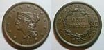 U.S. Penny 1840 Cent