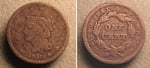 U.S. Penny 1841 Cent