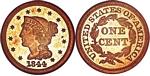U.S. Penny 1844 Cent
