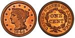 U.S. Penny 1848 Cent