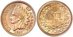 U.S. Penny 1860 Cent
