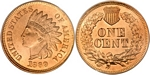 U.S. Penny 1869 Cent