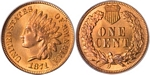 U.S. Penny 1871 Cent