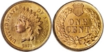 U.S. Penny 1872 Cent