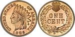 U.S. Penny 1886 Cent