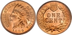 U.S. Penny 1889 Cent