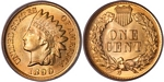 U.S. Penny 1899 Cent