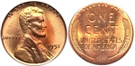 U.S. Penny 1951 Cent
