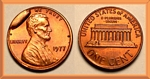 U.S. Penny 1977 Cent