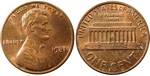 U.S. Penny 1981 Cent
