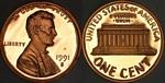 U.S. Penny 1991 Cent