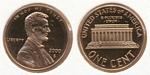 U.S. Penny 2000 Cent