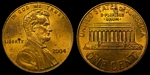 U.S. Penny 2004 Cent
