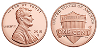 U.S. Penny 2018 Cent