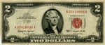 American two dollar bill $2