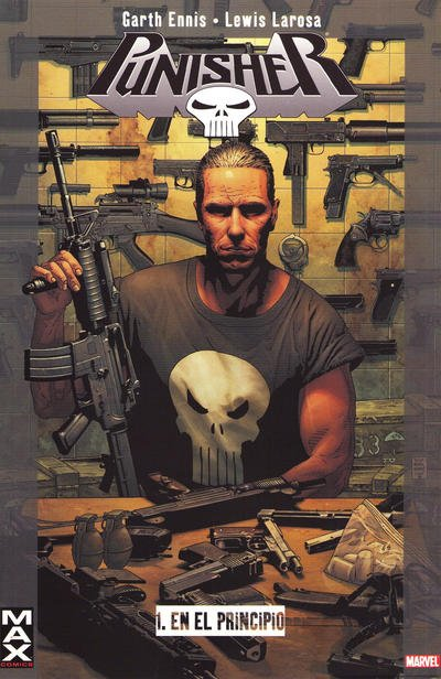 100% Max: Punisher Comic Book Back Issues of Superheroes by A1Comix