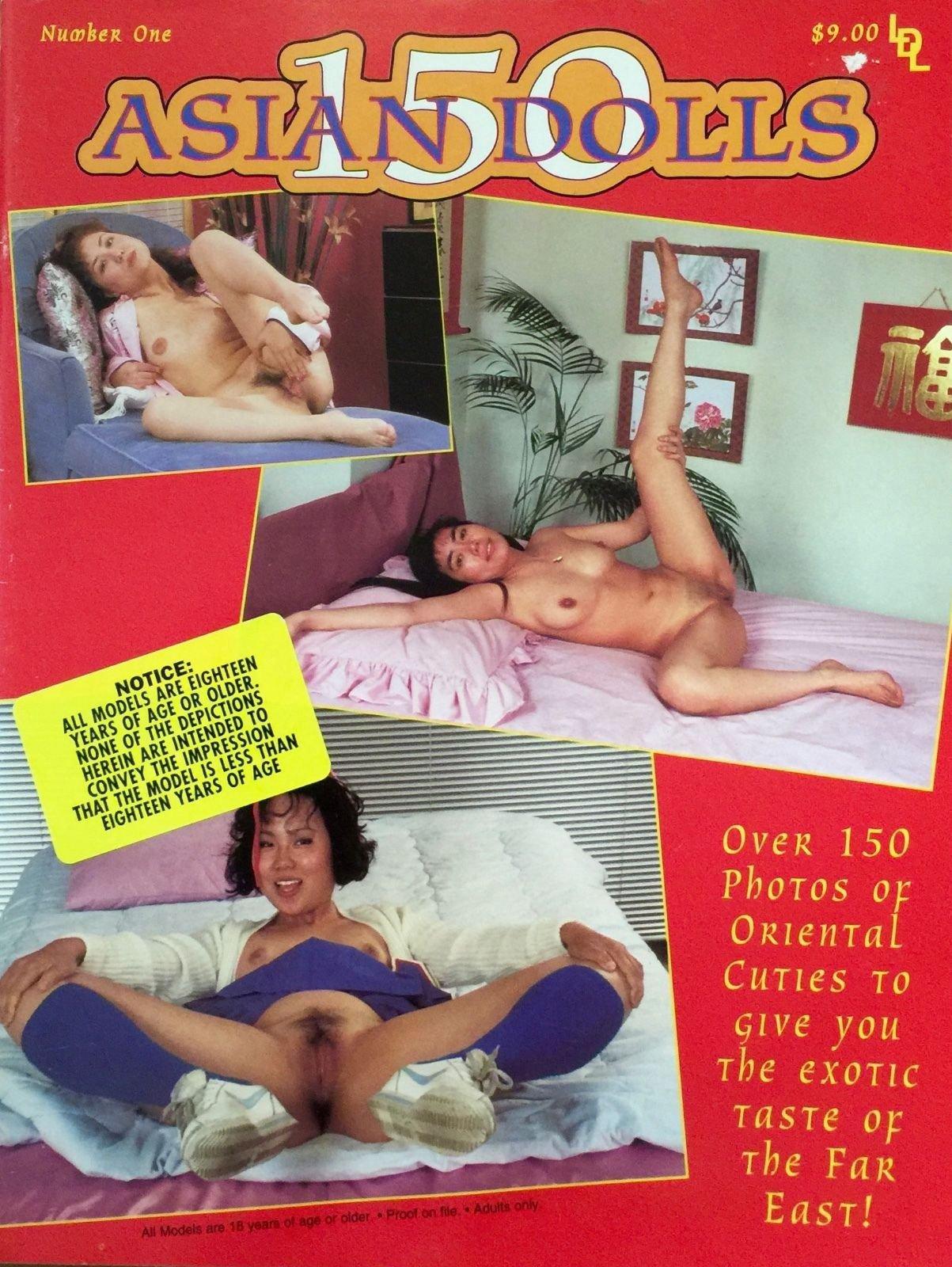 150 Asian Dolls # 1 magazine back issue 150 Asian Dolls magizine back copy