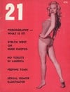 21 January 1955 magazine back issue