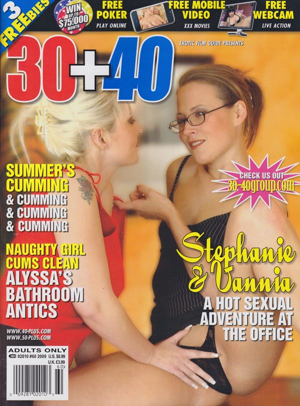 30+40 # 60 magazine back issue 30+40 magizine back copy 30+40 magazine 2009 back issues naughty ladies hooking up explicit mature moms xxx pictorials girl o