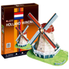 3d jigsaw puzzle, Holland Windmill, museum quality jigsaw puzzle, daron puzzle company, puzz3d