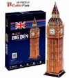 big ben 3d puzzle 30 piece 3D jigsaw puzzle, united kingdom jigsaw puzzle of bigben clock and tower