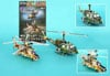 jigsaw puzzle of military helicopters by daron, puzz3d mini puzzle 66 pieces Puzzle