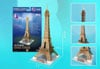 3d puzzle, eiffel tower, 37 pieces, eiffeltower 3d puzzle, small easy puzzel Puzzle