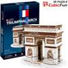 3d jigsaw puzzle, triumphal arch, museum quality jigsaw puzzle, CubicFun puzzle company, puzz3d