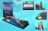 golden-gate-bridge,golden gate bridge 3d jigsaw puzzle by daron, puzz3d dimensions