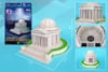 jefferson memorial 3d jigsaw puzzle by daron, puzz3d dimensions