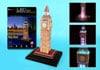 big-ben-led,big ben 3d puzzle, united kingdom jigsaw puzzle of bigben clock and tower