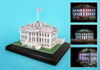 white house 3d puzzle with led lights, home of the president of the united states jigsaw puzzle of t