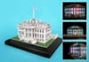 white house 3d puzzle with led lights, home of the president of the united states jigsaw puzzle of t Puzzle