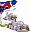 westminster-abbey,westminster abbey in england 3d jigsaw puzzle by cubicfun, puzz3d dimensions