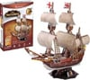 mayflower-3d-puzzle,mayflower ship 3d puzzle museum quality sturdy construction puzz3d easy to assemble ages 6 up