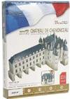 3d jigsaw puzzles of castles, chenonceau castle, jigsaw puzzles by cubicfun 3d castle