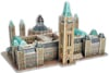 parliament buildings of canada 3 dimensional jigsaw puzzle, ottawa, ontario, canadian landmark jigsa