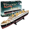 titanic royal mail steamship 3d jigsaw puzzle, rare collector's puzzles by cubic fun 3d puzzles