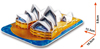 3d jigsaw puzzle, sydney opera house, museum quality jigsaw puzzle, daron puzzle company, puzz3d