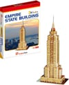 3d jigsaw puzzle, empire state building, museum quality jigsaw puzzle, daron puzzle company, puzz3d