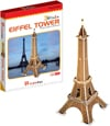 3d puzzle, eiffel tower, 20 pieces, eiffeltower 3d puzzle, small easy puzzel
