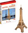 3d puzzle, eiffel tower, 20 pieces, eiffeltower 3d puzzle, small easy puzzel Puzzle