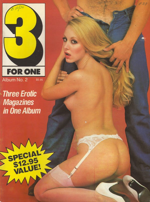 3 For One Album # 2 magazine back issue 3 For One magizine back copy 3 for one magazine 1984 issues of stag and swank xxx nude pictorials album no 2 sex pics dirty lesbo