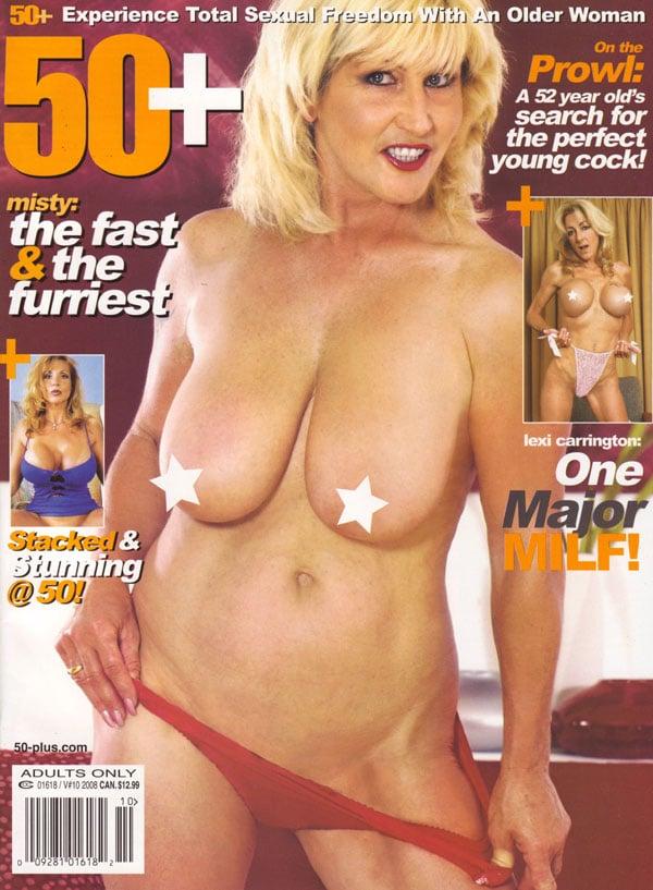 50+ Vol. 10 # 10 magazine back issue 50+ magizine back copy 50+ magazine 2008 back issues hot horny milfs xxx explicit nude shots senior women naked older nudes