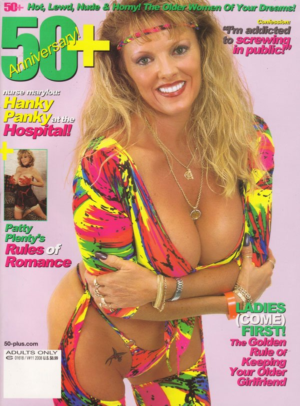 50+ Vol. 10 # 11 magazine back issue 50+ magizine back copy 50+ anniversary 2008 issue xxx photos of ssexy mature women MILFs nood shots pussy explicit dirty ra