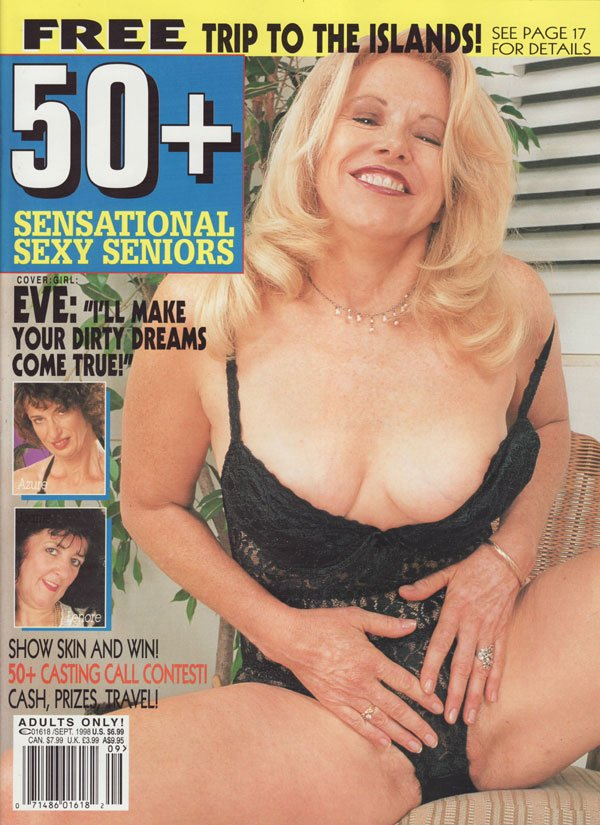 50+ September 1998 magazine back issue 50+ by Year magizine back copy eve i'll make your dirty dreams come true show skin and win50+ casting call azure cheyanne daniella